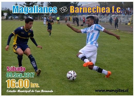 Magallanes bs barnchea f.c.