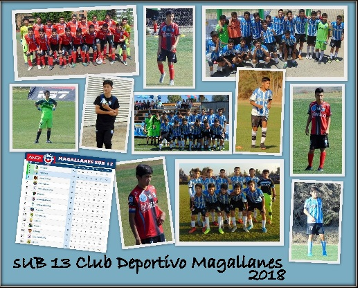 SUB 13 CLUB MAGALLANES 2018 SI